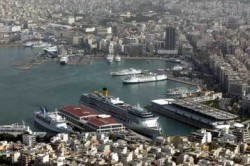 image port of piraeus